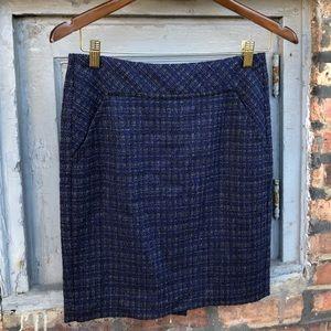 Trina Turk tweed pencil skirt